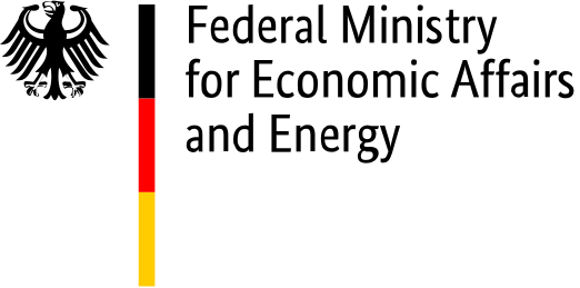 Logo of the Federal Ministry for Economic Affairs and Energy